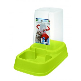 Green Automatic Feeding Bowl