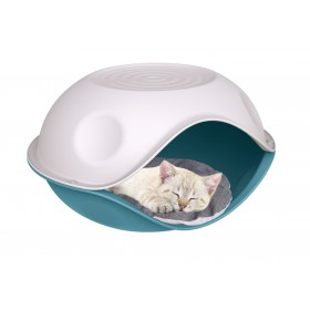 Pet Sleeping Pod Blue Antico