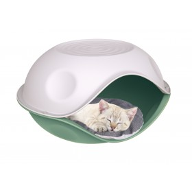 Pet Sleeping Pod Green Antico