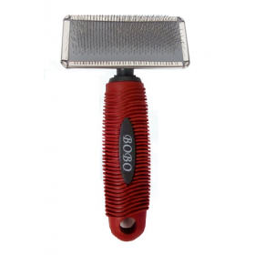 Red Grooming Brush