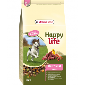 Happy Life Lamb Adult Mini 3kg