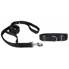 Large Size Black Dog Collar...
