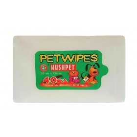 Hushpet Pet Wipes Pack of 40