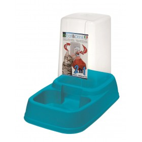 Blue Automatic Feeding Bowl