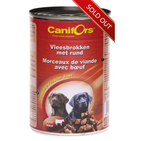 Canifors Beef Meat Chunks 410g