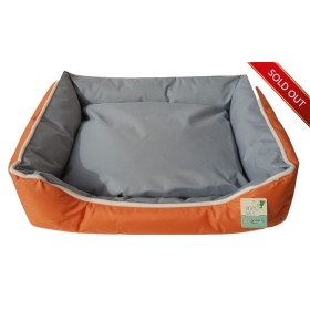 Large Orange Couch Bed
