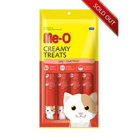 ME-O Creamy Treats Crab 15g...